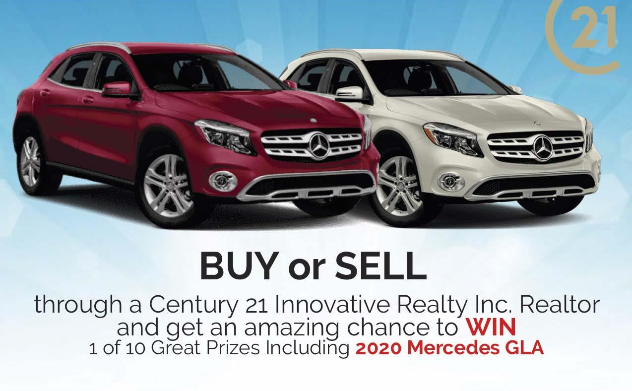 Win Free Mercedes GLA 2020