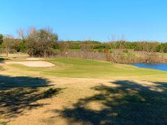 One of the greens at Grey Rock Golf Club in Circle C Ranch