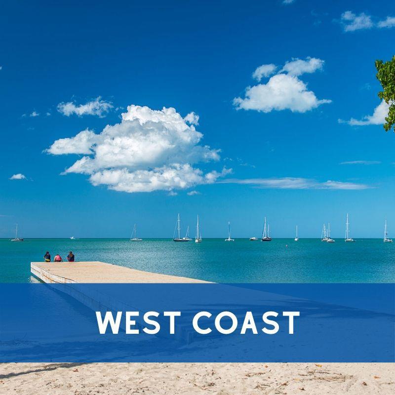 West Coast of Puerto Rico