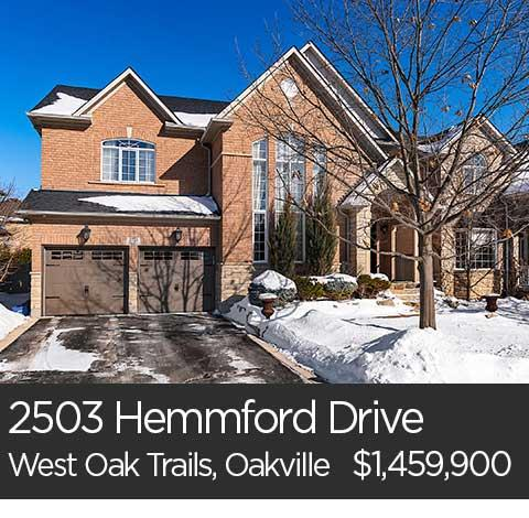 2503 hemmford drive oakville home for sale