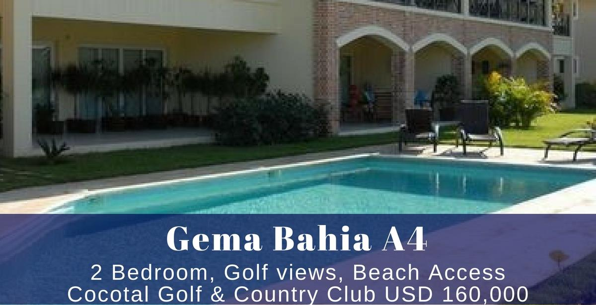 Gema Lodge A4 at Cocotal Golf Punta Cana