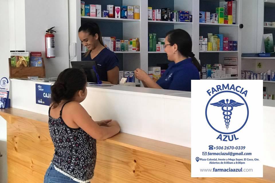 Farmacia Azul, Playas del Coco, Costa Rica
