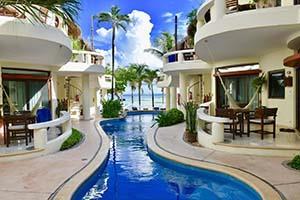 Playa Palms Beachfront Studio Condo