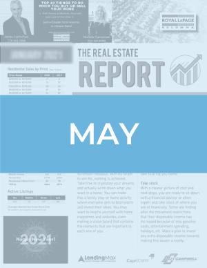May 2021 Okanagan Real Estate Report