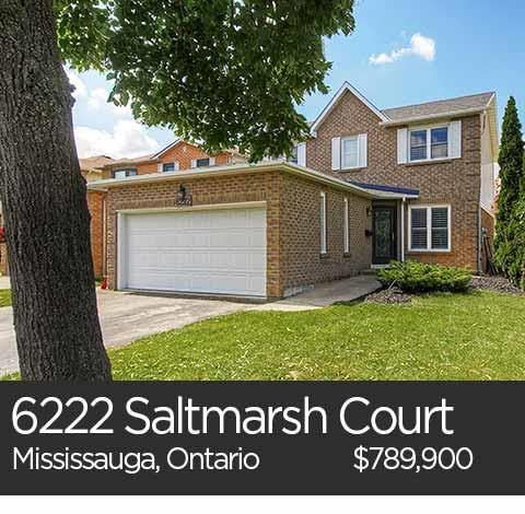 6222 saltmarsh court mississauga home for sale
