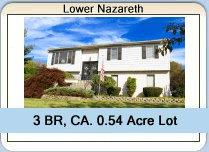 Lower Nazareth Home For Sale