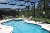 6 bedroom 5.5 bathroom pool villa to rent for your Orlando Vacation