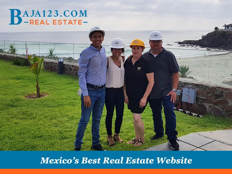 Hanging out with satisfied clients at La jolla Excellence