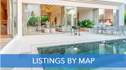 Listings by Map in Playa del Carmen