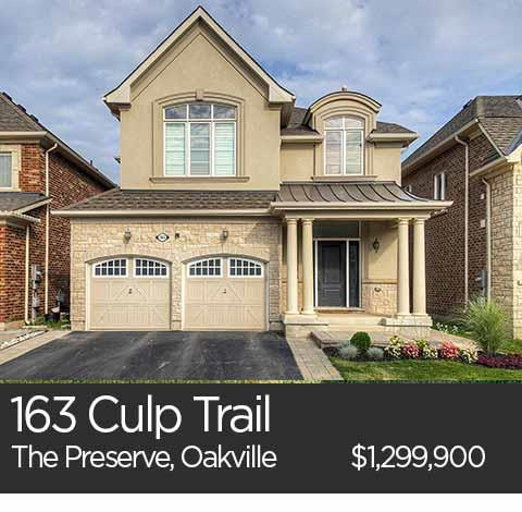 163 culp trail the preserve oakville home for sale