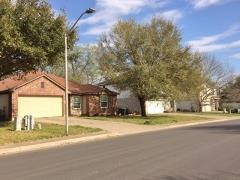 A view of homes in the Trails neighborhood in Kyle, Texas.
