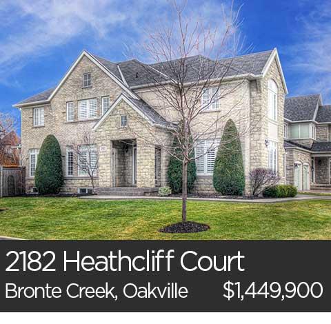 bronte creek homes for sale oakville