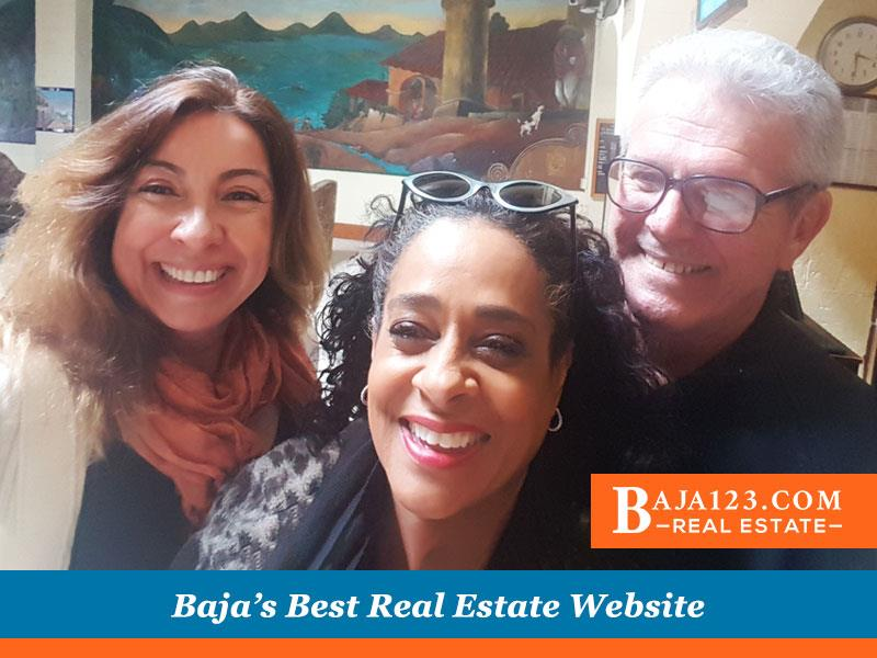Claudia Pierce with Rosarito Beach Hotel Condo Clients