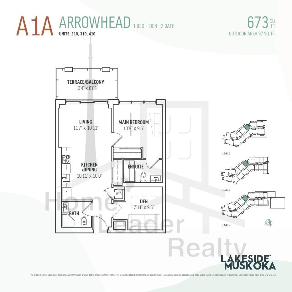 lakeside muskoka Floor plan