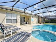 Rental Home Windsor Palms 4 Bedroom with South Facing Pool & Spa