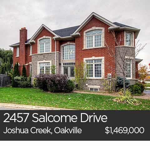 salcome drive joshua creek oakville home for sale
