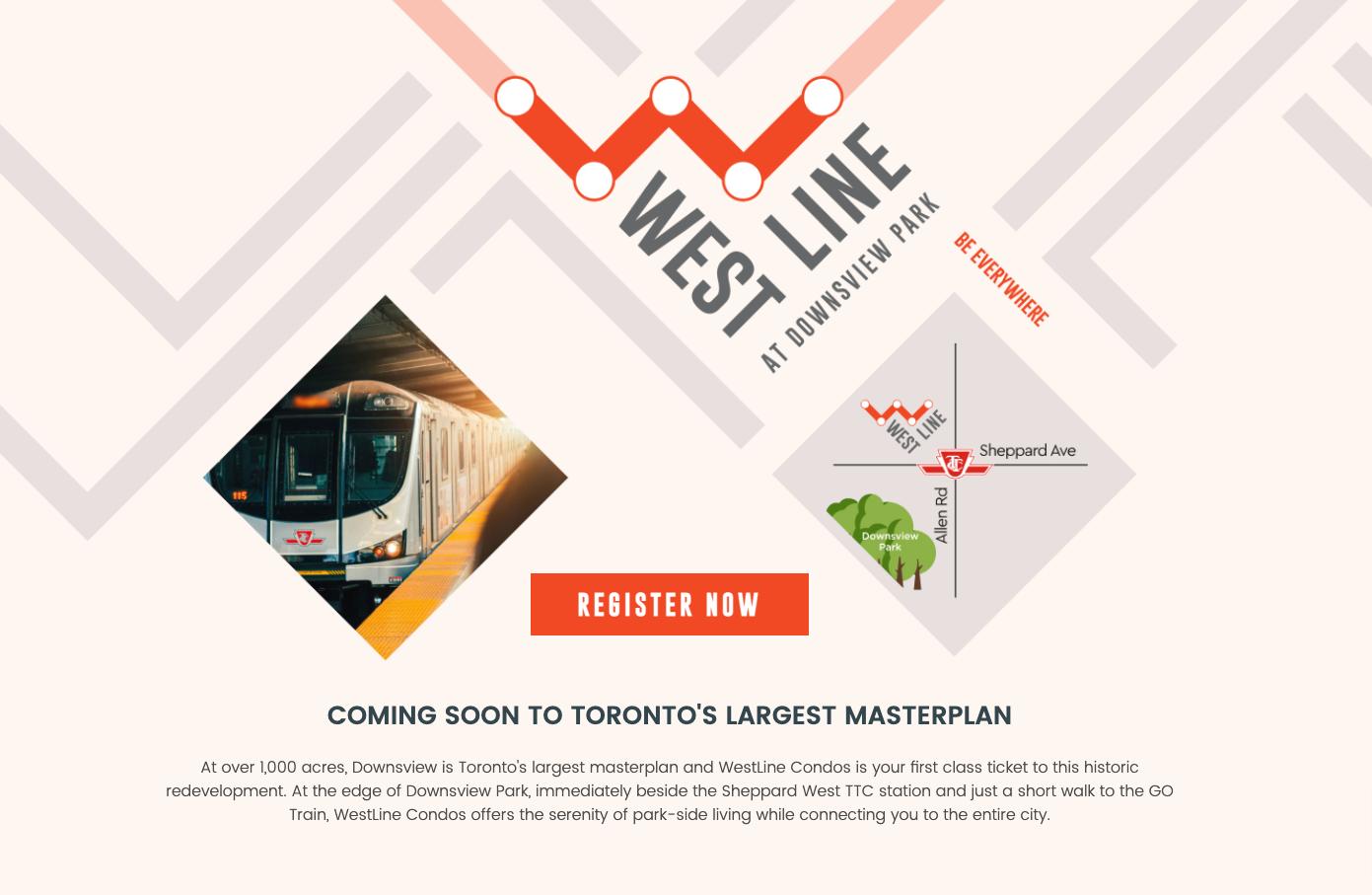 Westline condos on Downsview Park Toronto