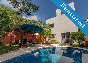 casa tropical real estate playa del carmen house for sale