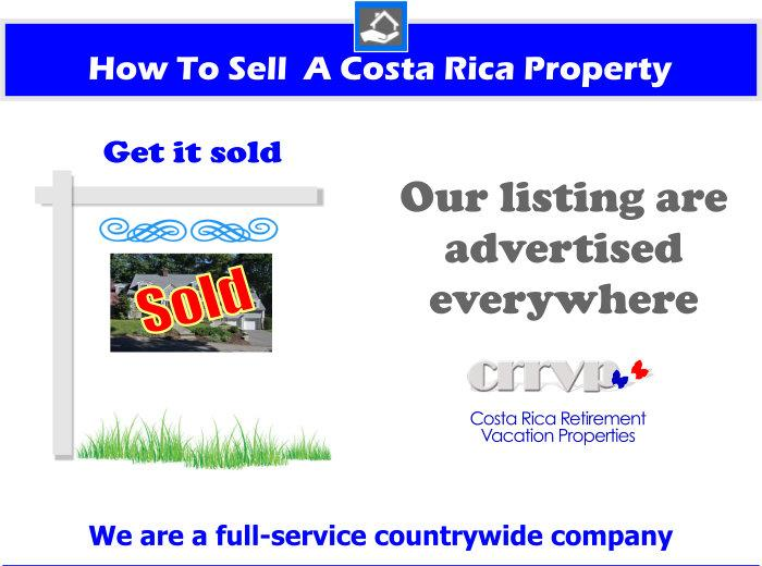 Costa Rica South Pacific Real Estate for sale