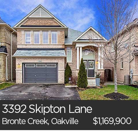 3392 Skipton Lane Bronte Creek Oakville