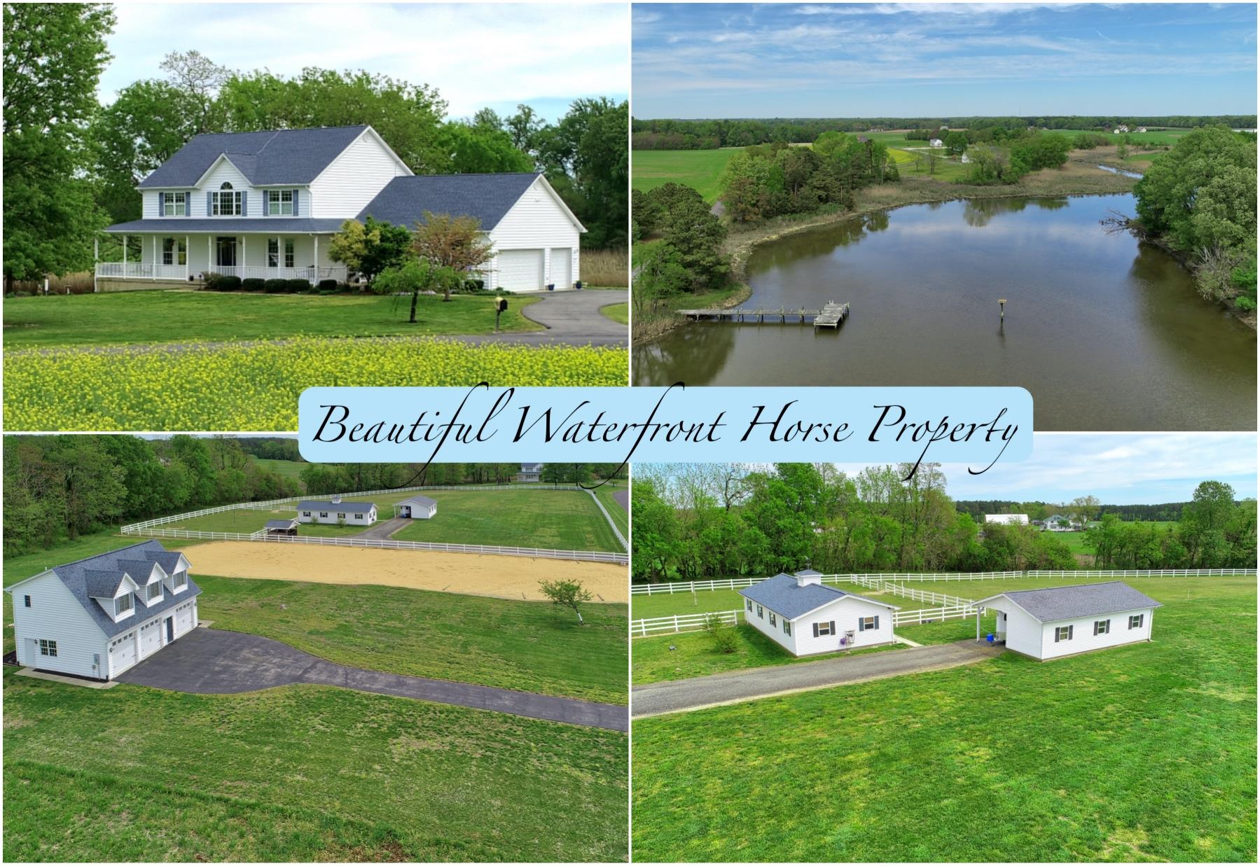 21581 Montfort Road, Bushwood MD - Foxwood Farm is a Waterfront Property and a Horse Property in Southern Maryland, in Saint Marys County!  Beautiful Acreage!  Country Setting! Listed by Your Southern Maryland Realtor, Marie Lally with O'Brien Realty