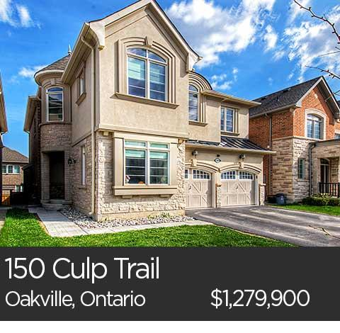 150 culp trail oakville home for sale