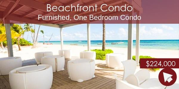 Punta Cana beach condo for sale