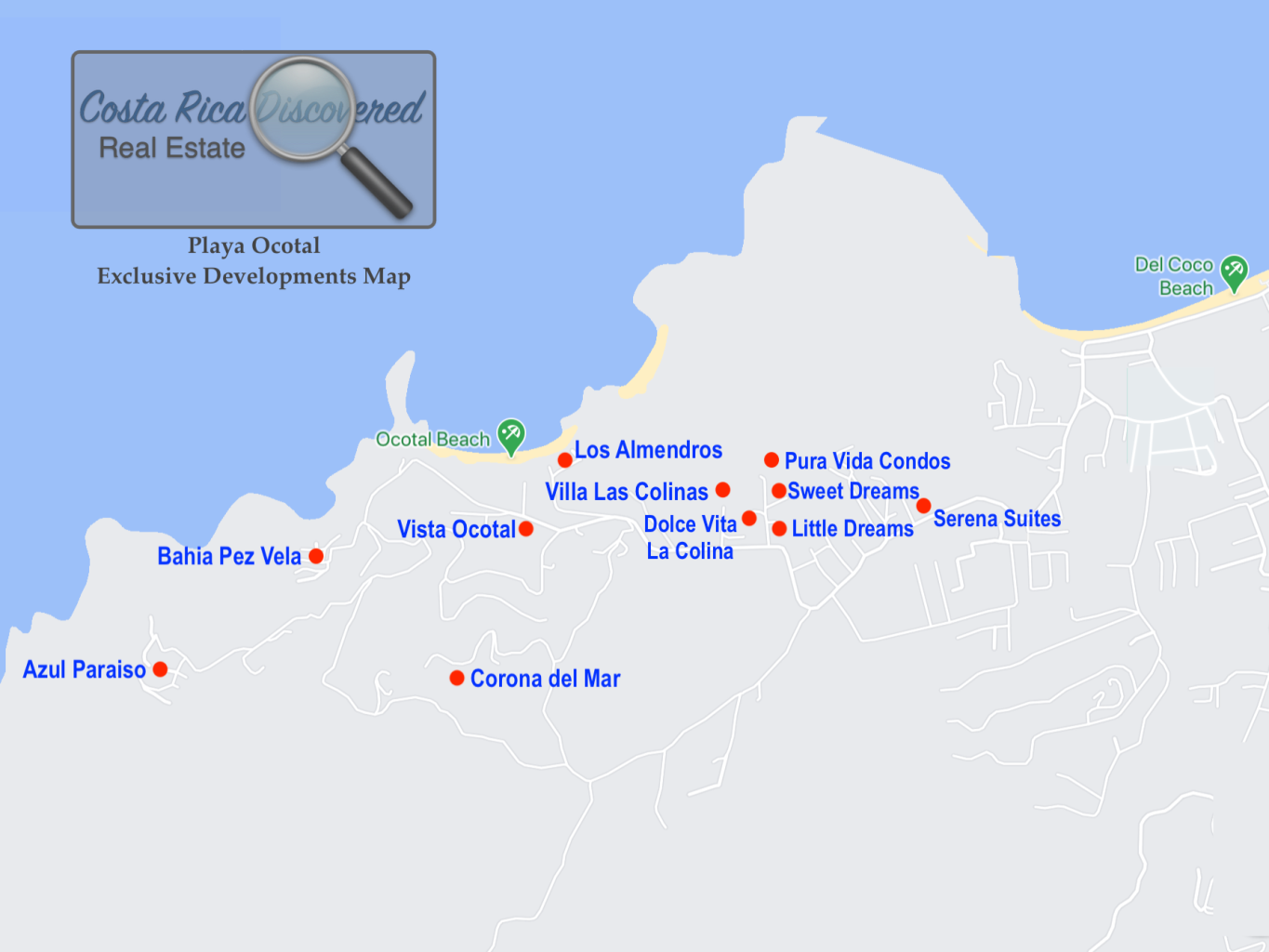 Playa Ocotal Exclusive Developments