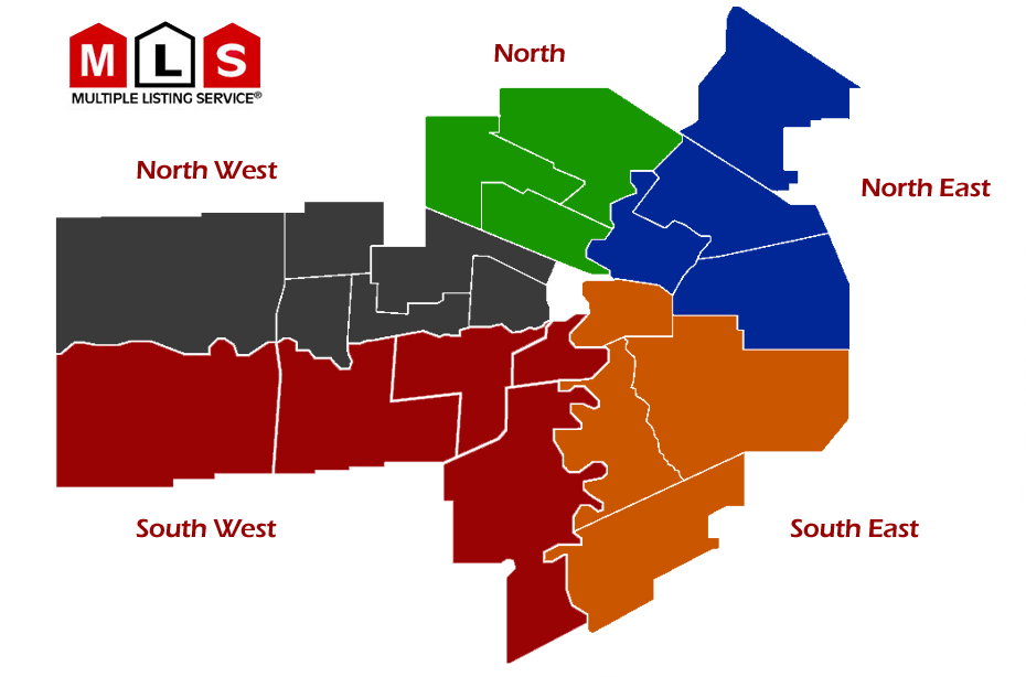Map of Neighbourhoods in Winnipeg, Manitoba