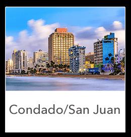 Properties in Condado and San Juan Puerto Rico