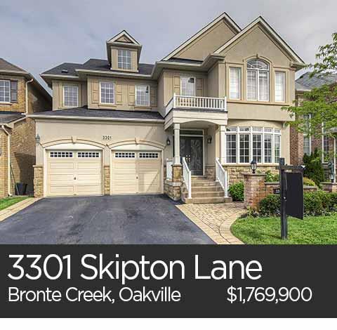 bronte creek oakville homes for sale skipton lane