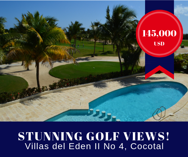 Villas del Eden for sale at Cocotal Golf & Country Club