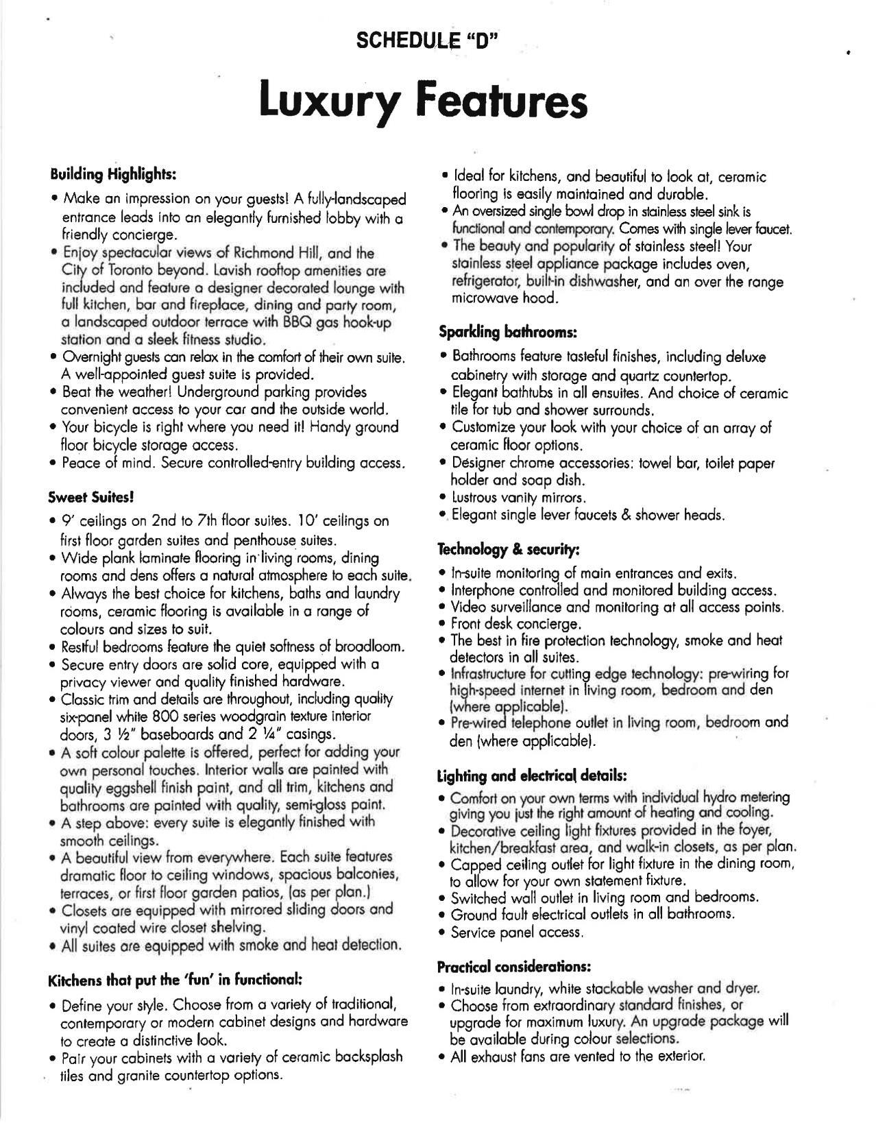 Bristol Condos Home Leader Realty Inc Maziar Moini Pre Wiring Diagram Dish Purchaser Price Includes
