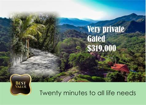 Private gated community in Costa Rica