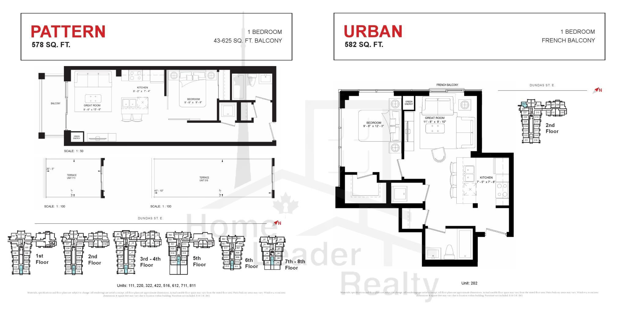 Trend Living Condos Floor Plans