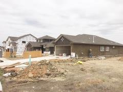 New home construction in Crosswinds 78640