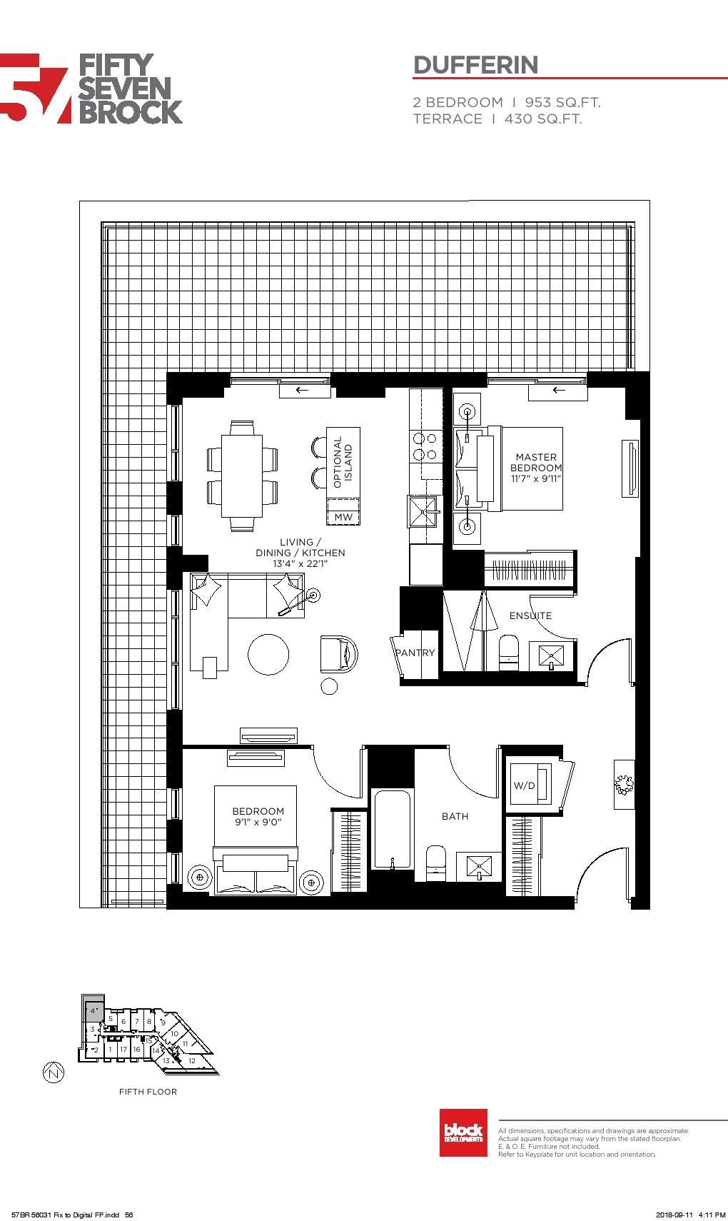 57 brock condos floor plans