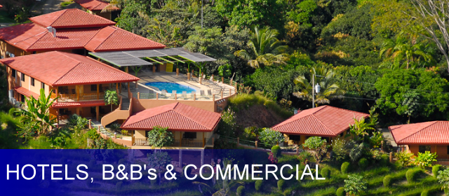 Dominical Hotels / B&B / Commercial Properties