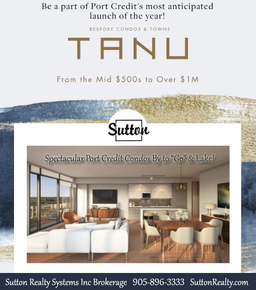 Tanu Port Credit Condos by Park Street