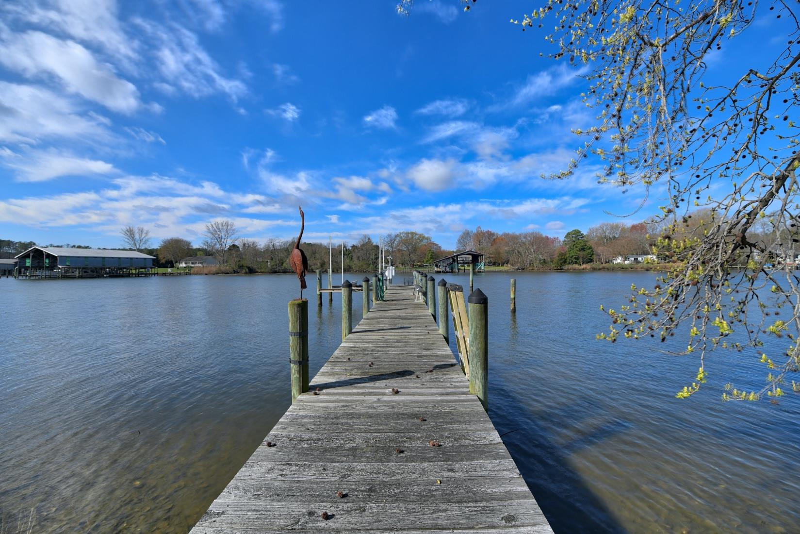 20955 Oakland Hall Road / Avenue MD / St Marys County Waterfront  - Pier with Boat Lift!