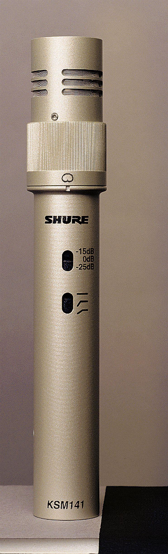 Shure KSM141 Dual-Pattern Condenser Microphone