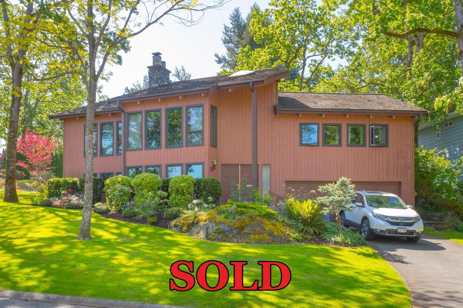 High Quadra Saanich West Coast Home sold by David Stevens