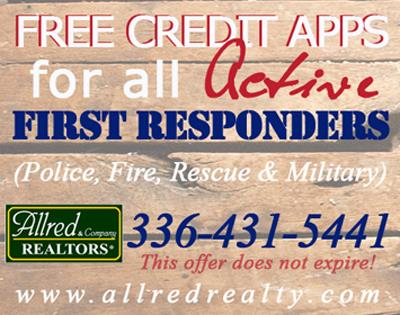 Free for veterans, allred rentals, allred realty, Archdale rentals, trinity rentals, where to rent in archdale