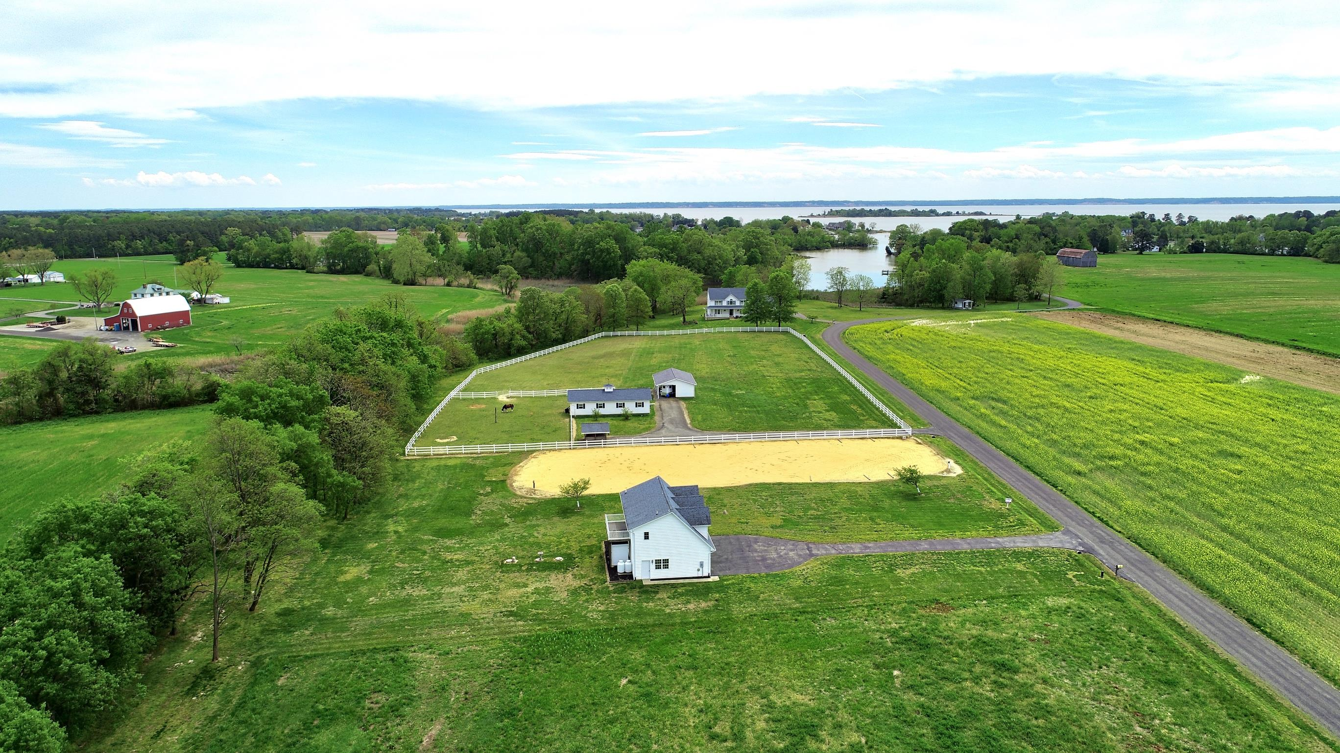 Beautiful Acreage!  Waterfront Property!  Horse Farm in Southern Maryland!  This Saint Marys County Waterfront Property has been listed by Marie Lally, Realtor with O'Brien Realty!