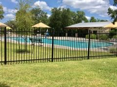 The swim pool at Circle C Ranch's Greyrock Ridge Community.