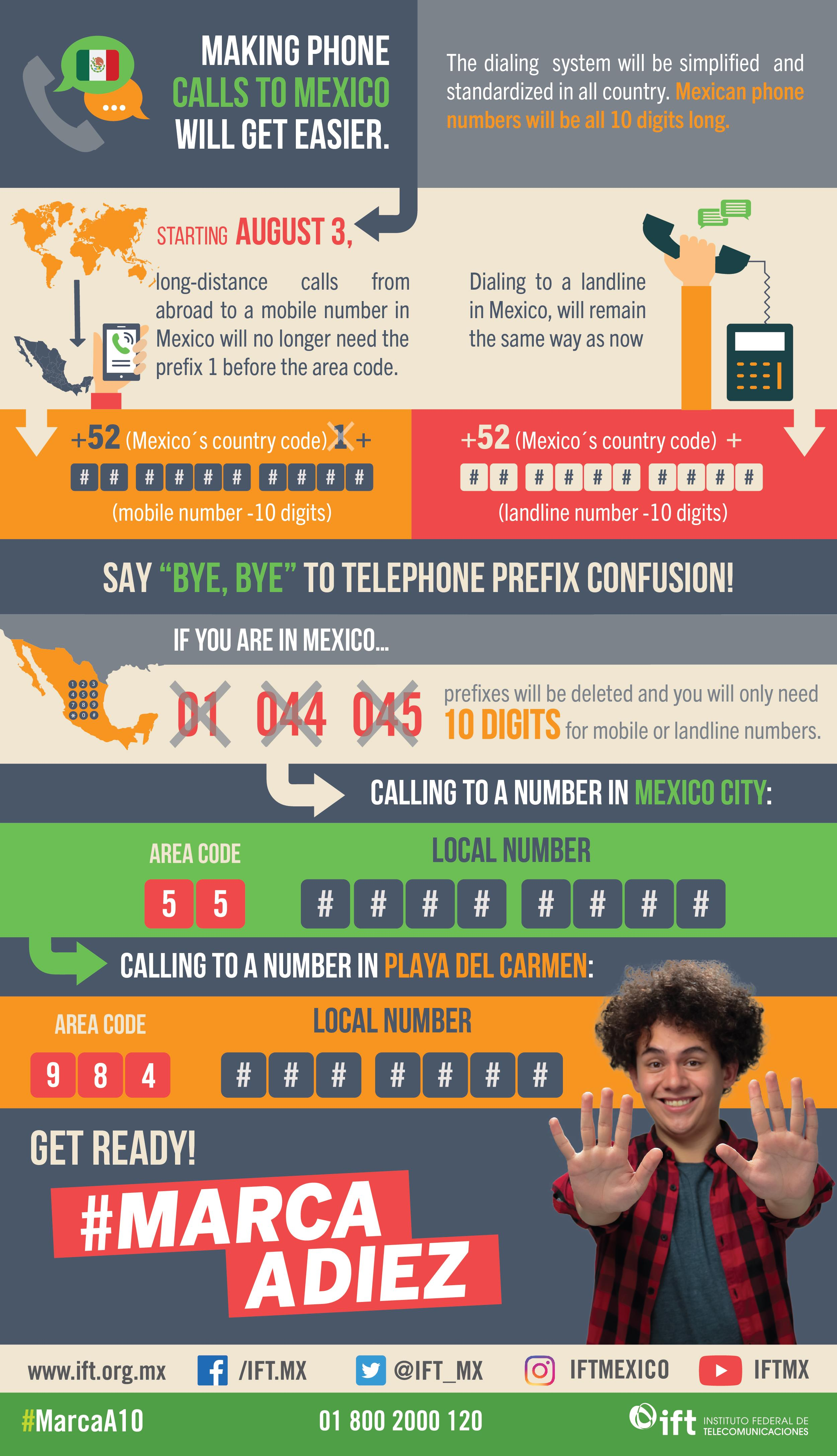 How To Dial Phone Numbers In Baja