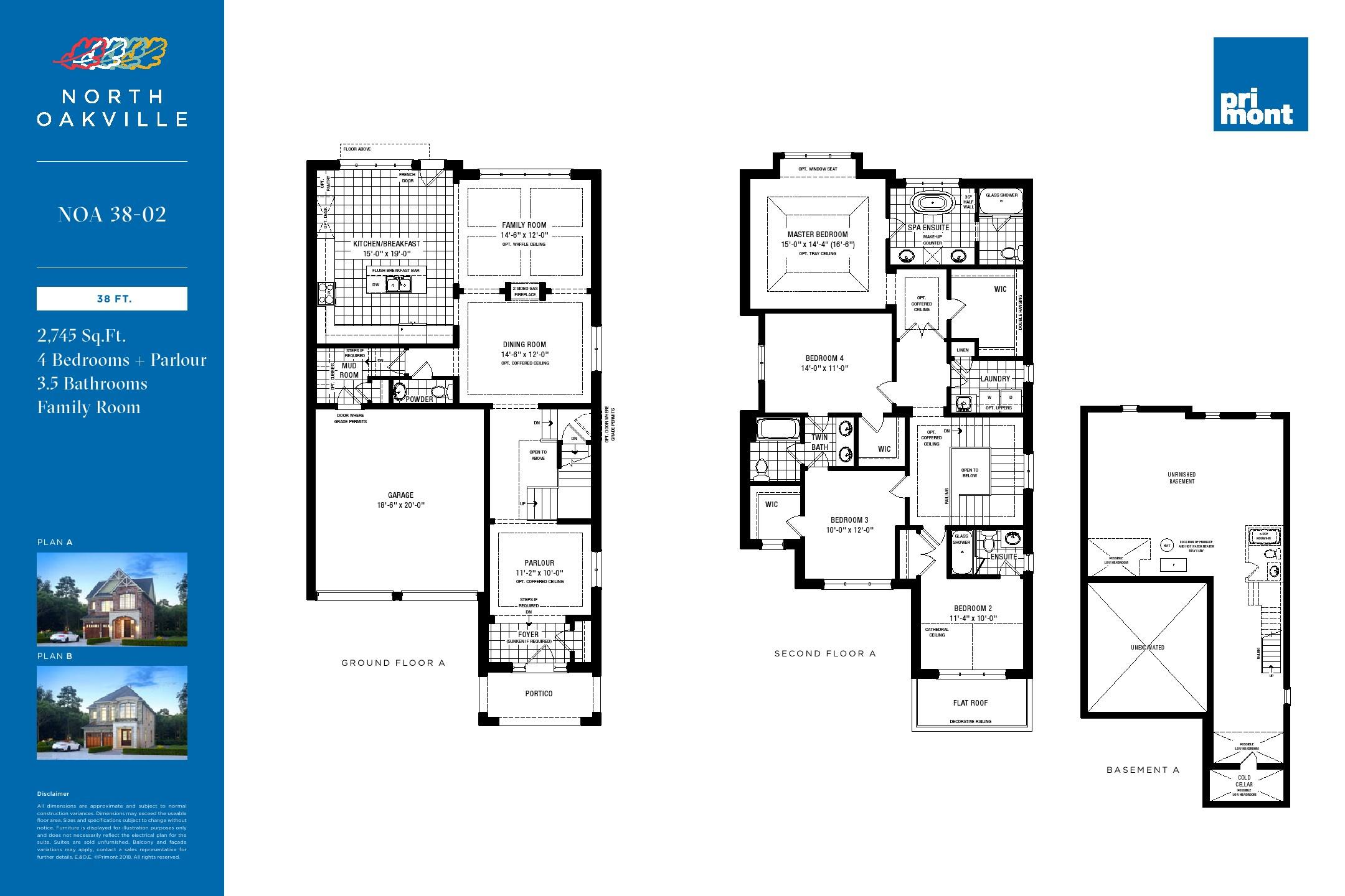 North Oakville Homes Maziar Moini Broker Home Leader Realty Inc Specification Of Electrical Plan Floor Plans