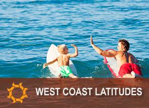 West Coast Latitudes