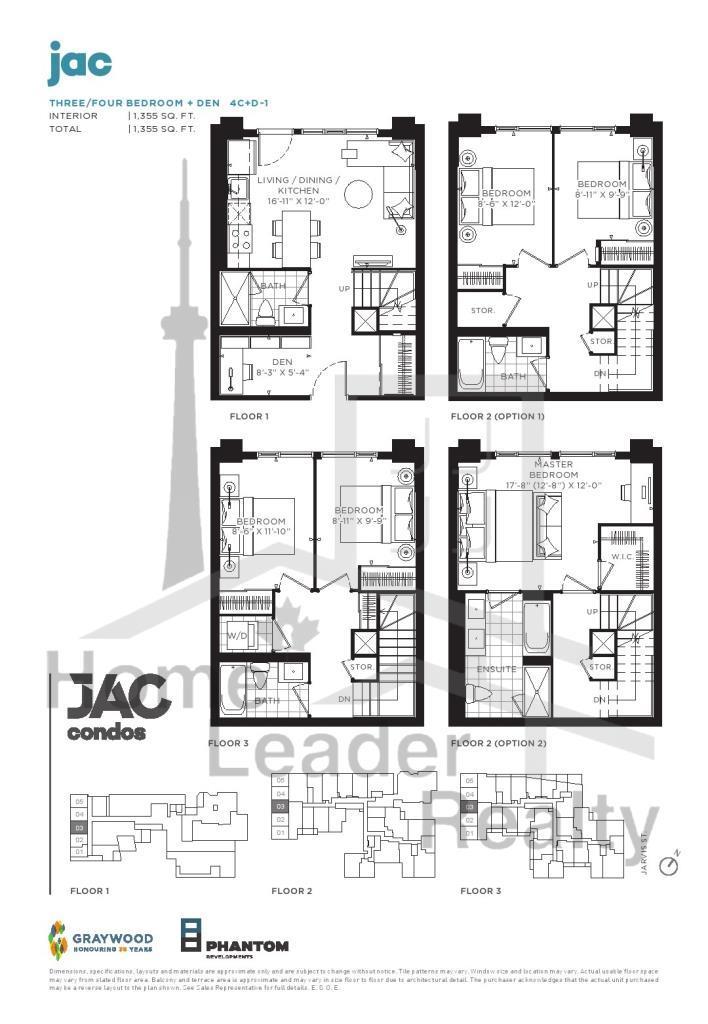 JAC Condos - Floor Plan