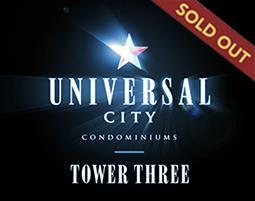 Universal City 3 Condos - sold